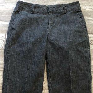 Coldwater Creek Trouser Capri Stretch Jeans SZ 8P